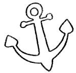 船锚简笔画怎么画