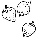 草莓简笔画图片大全