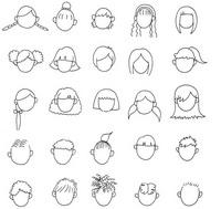 手托太阳图片_人物简笔画大全,卡通动漫人物简笔画,人物表情简笔画