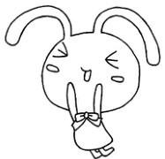 简单的兔子简笔画
