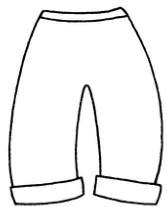 裤子简笔画怎么画