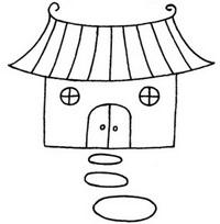 寺庙简笔画图片教程