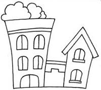别墅简笔画怎么画