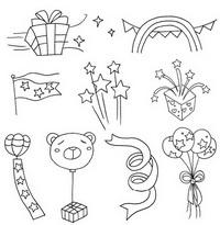 儿童节简笔画