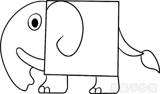星星报 简笔画 动物简笔画 >> 正文内容     象的外形特征资料