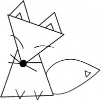 狐狸简笔画图片步骤教程