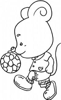 小老鼠简笔画简单画法