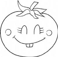 西红柿简笔画图片教程