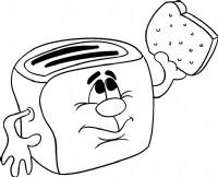 面包机简笔画