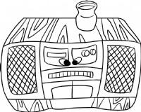 收音机简笔画图片画法