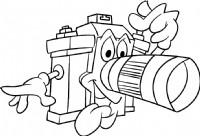 照相机简笔画简单画法
