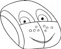 鼠标简笔画