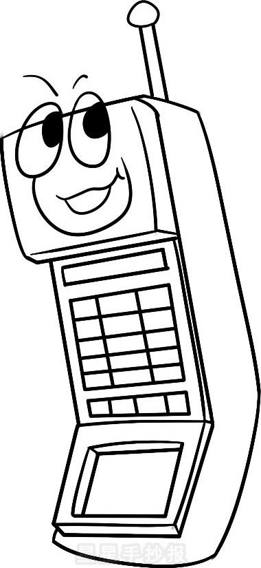 手机简笔画简单画法