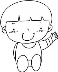 小孩简笔画图片教程
