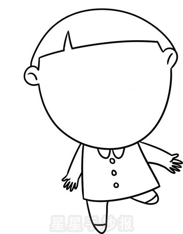 老师简笔画可爱