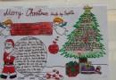 圣诞节英语手抄报图片:MerryChristmas