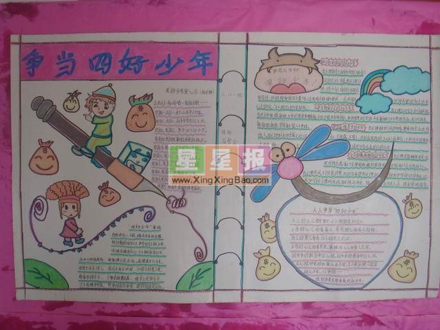 小学美术展板设计模板