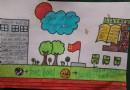 小学生OurSchool英语手抄报图片