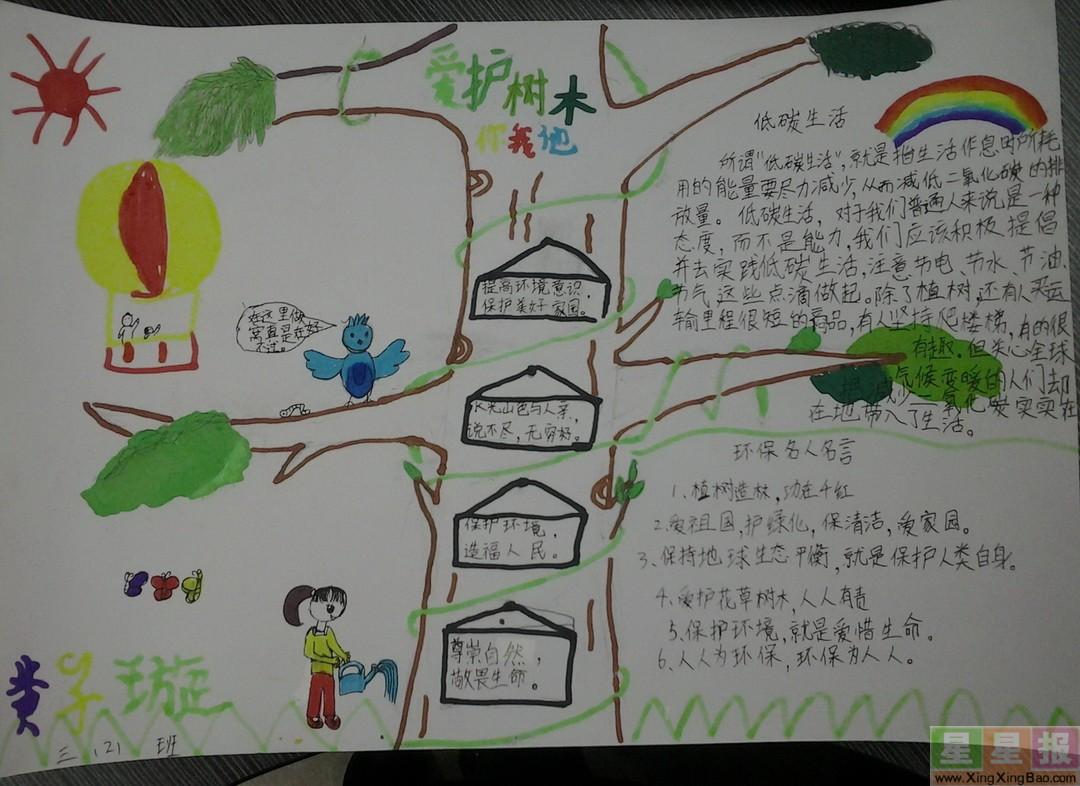三年级手抄报花边边框简笔画图片