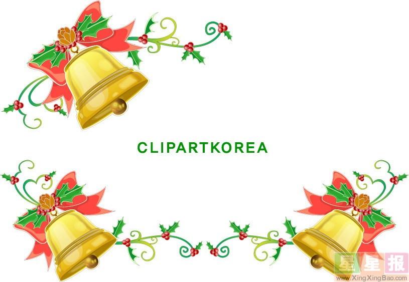 圣诞节手抄报花边图案欣赏