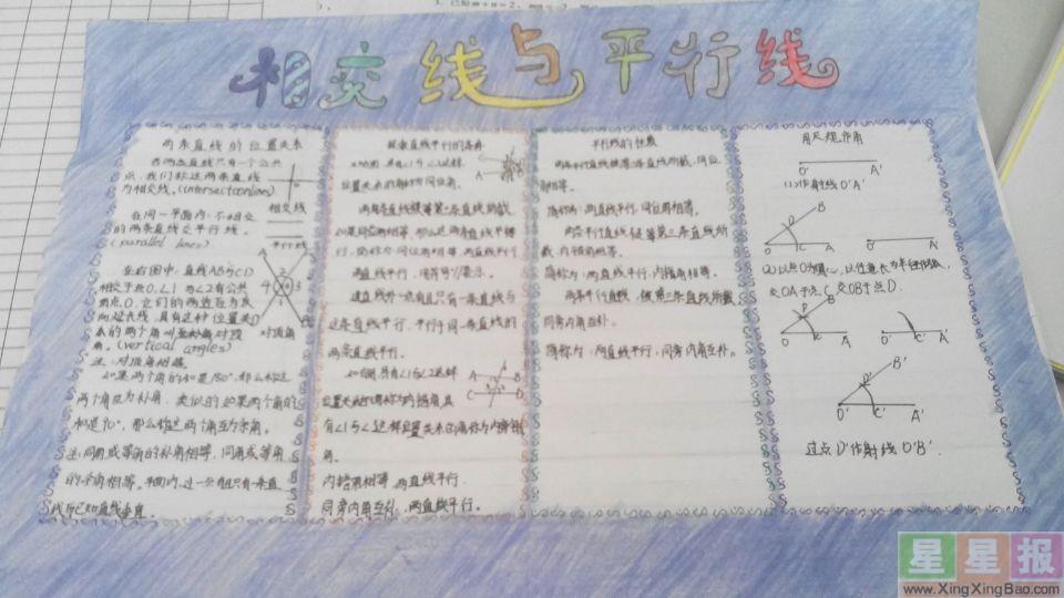 关于数学手抄报图片6张