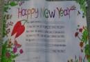 HappyNewYear英语手抄报图片、内容