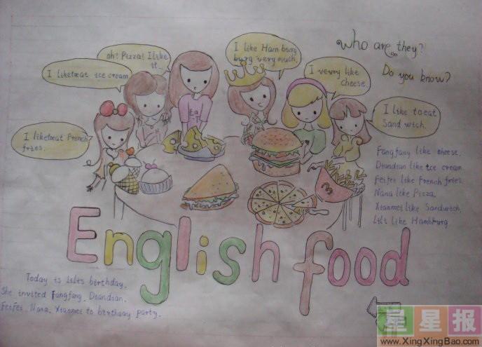 英语手抄报制作教程图片5张