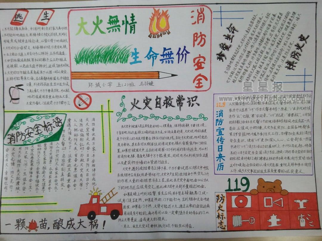 消防安全的资料问:短点,是做手抄报答:火场自救疏散时不要乘坐电梯