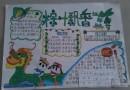 端午节粽叶飘香手抄报版面设计图