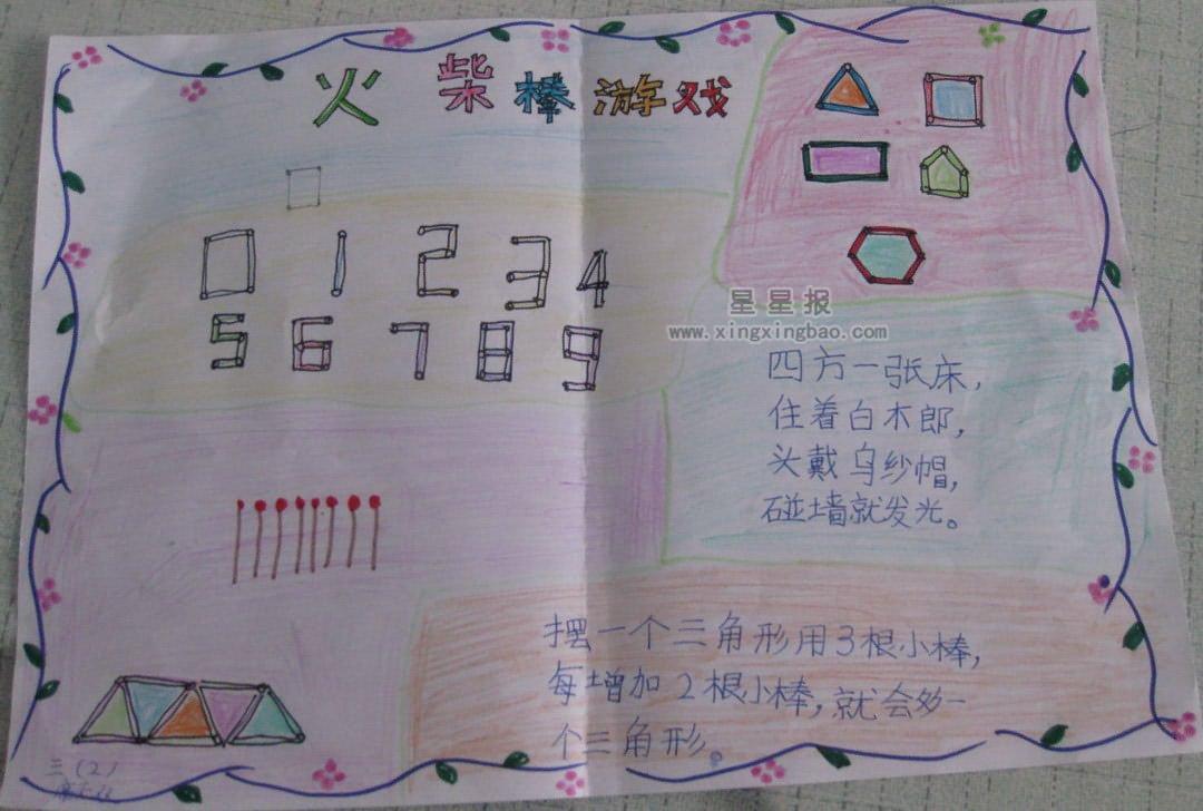 包含有手抄报插图,手抄报边框设计素材以及关于小学生英语,环保,语文