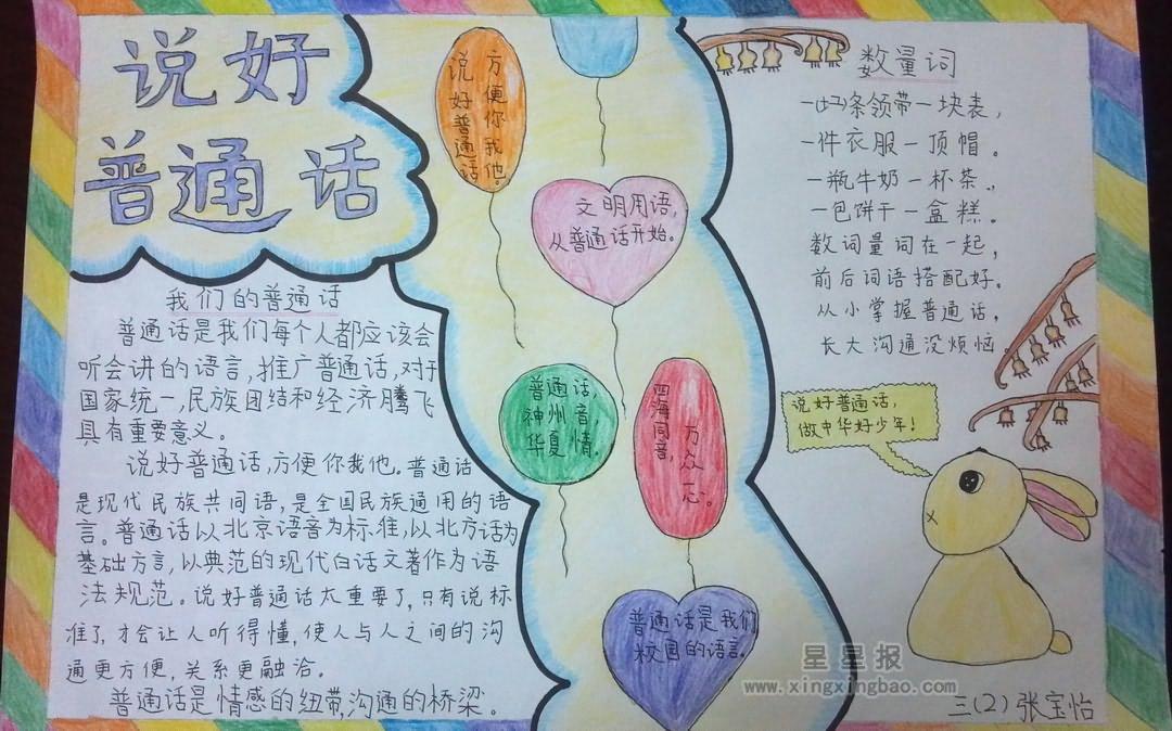手抄报版面设计图 下一篇: 推广普通话手抄报版面