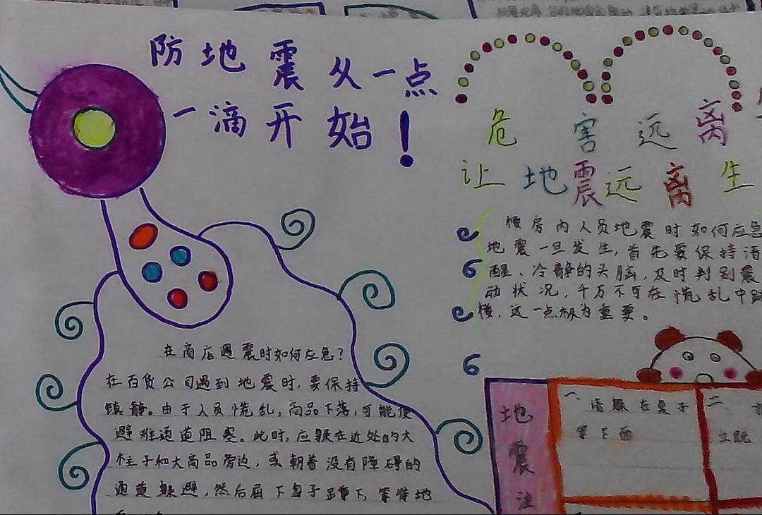 手抄报 >> 正文内容       2008年5月12日,四川汶川发生了8级特大地震