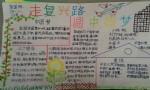 走复兴路圆中国梦手抄报图片