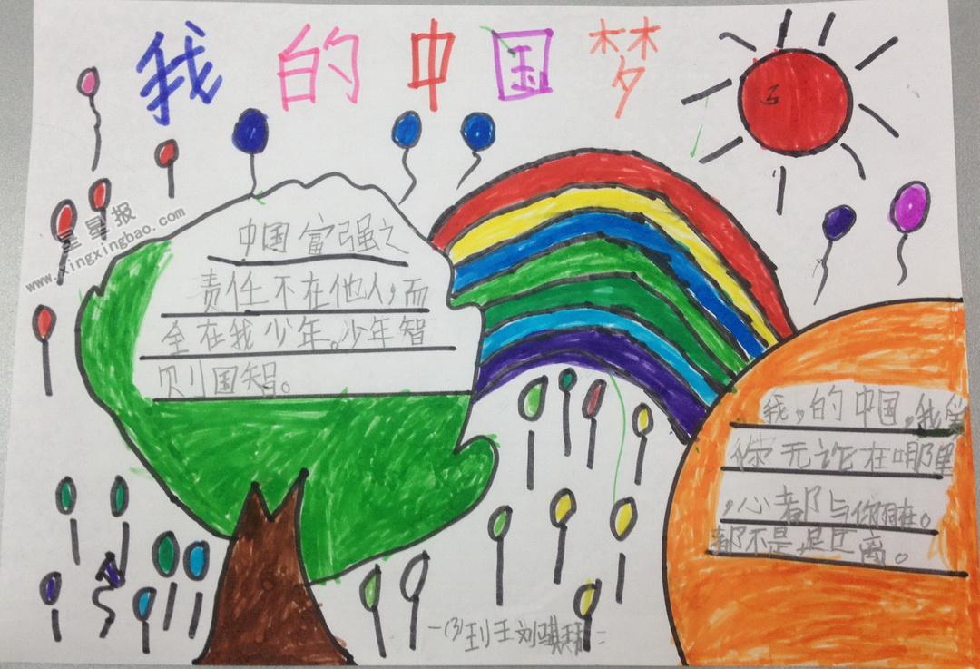 小学生我的中国梦手抄报内容