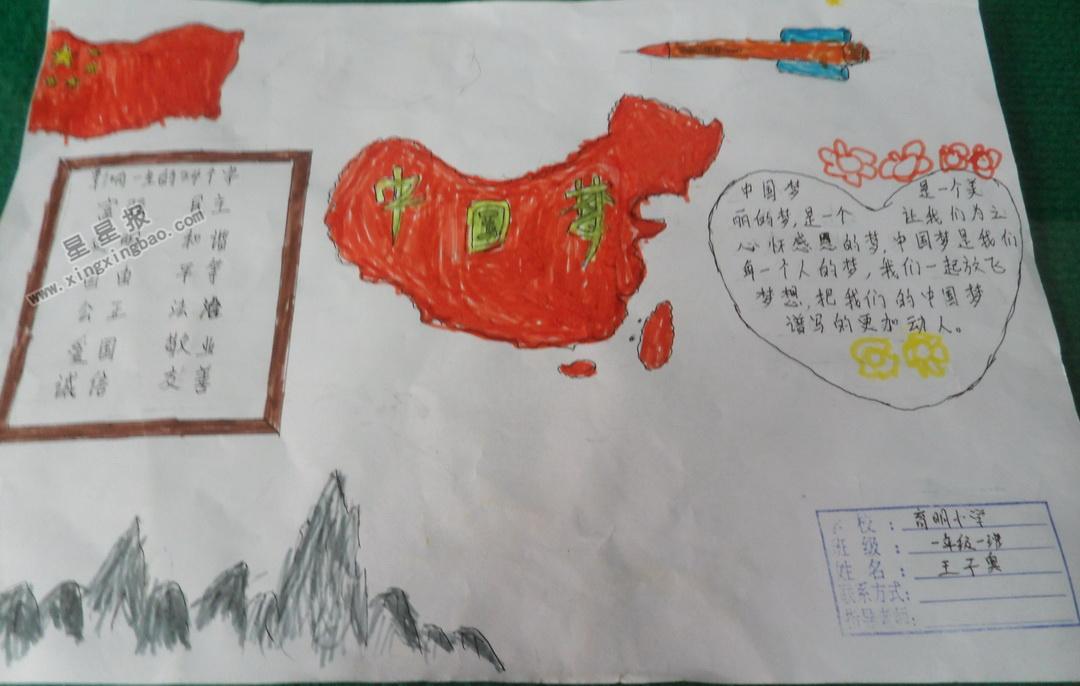 手抄报 中国梦手抄报 >> 正文内容   五千年的岁月,五千年的传承,因为