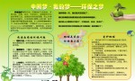 中国梦我的梦―环保之梦电子手抄报图片、内容