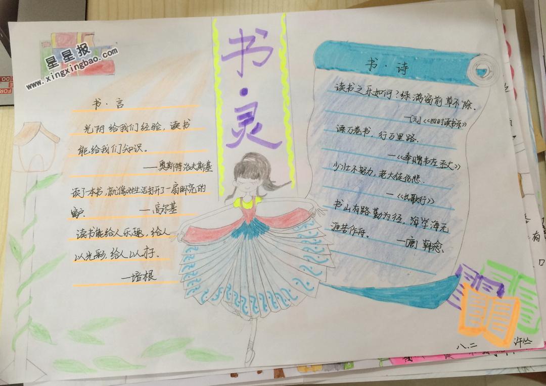 小学生书灵手抄报资料小学生理财图片
