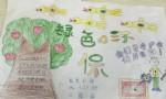 绿色环保手抄报版面设计图
