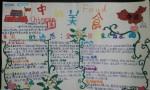 中国美食手抄报图片