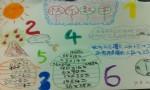小学二年级快乐数学手抄报
