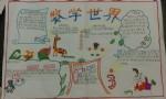 小学二年级数学世界手抄报