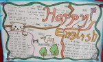 HappyEnglish手抄报版面设计图