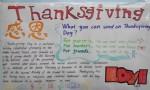 Thanksgiving英语手抄报资料