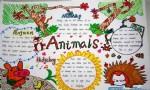 Animals英语手抄报资料