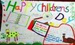 HappyChildrensDay英语手抄报图片、资料