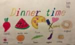 DinnerTime英语手抄报内容