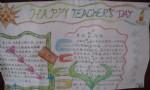 Happyteachers'day英语手抄报图片2张