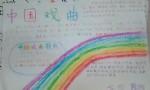 中国戏曲手抄报图片、内容