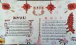 关于春节习俗手抄报