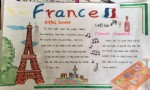 小学生France英语手抄报